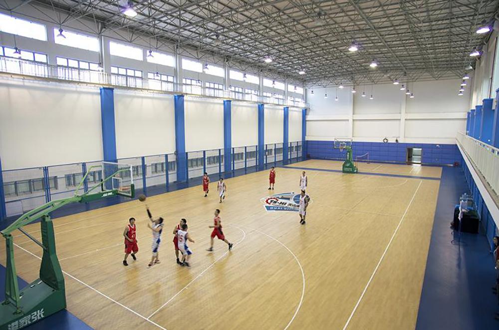 室内PVC篮球场建设