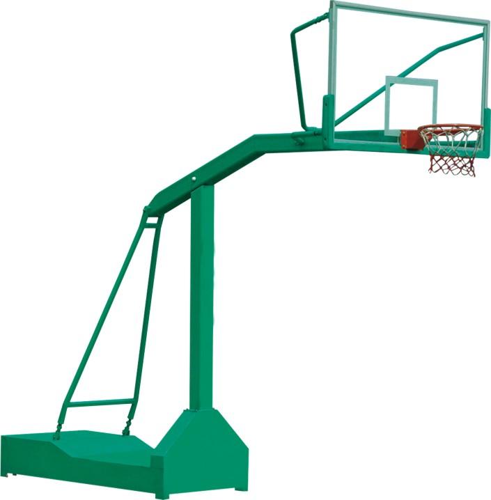 凹箱式篮球架