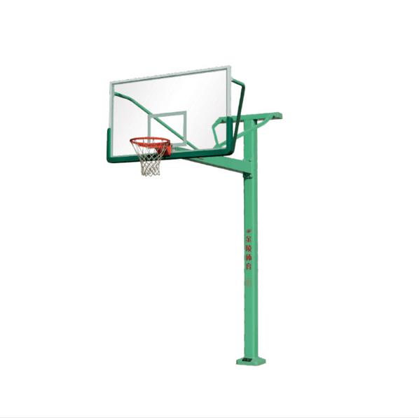 固定单臂篮球架